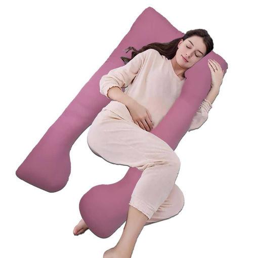 Picture of مخدة الحمل لدعم جسم الحامل أثناء النوم - كشمير