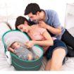 Picture of سرير وكرسي هزاز ماستيلا 5 في 1 للأطفال رمادي×تركواز