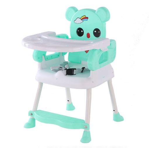 Picture of كرسي طعام صغير للأطفال - تركواز
