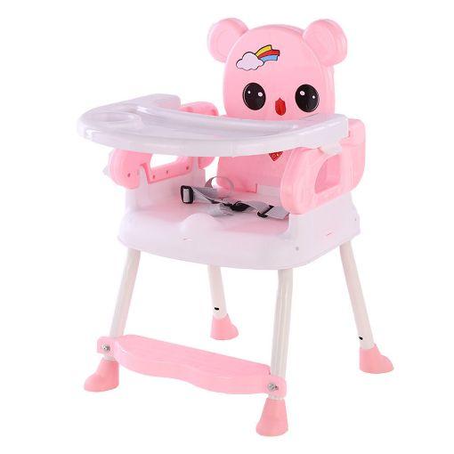 Picture of كرسي طعام صغير للأطفال - بينك