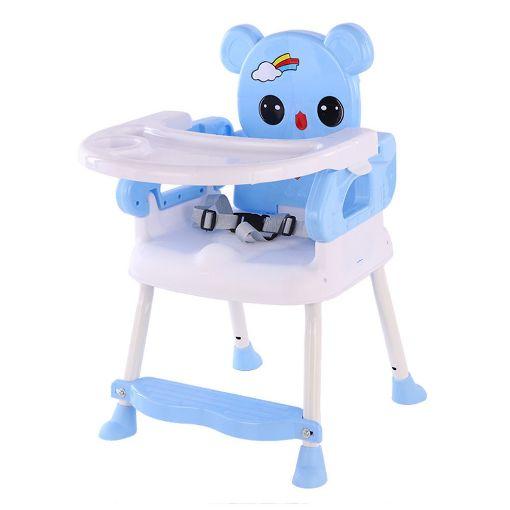 Picture of كرسي طعام صغير للأطفال - لبني